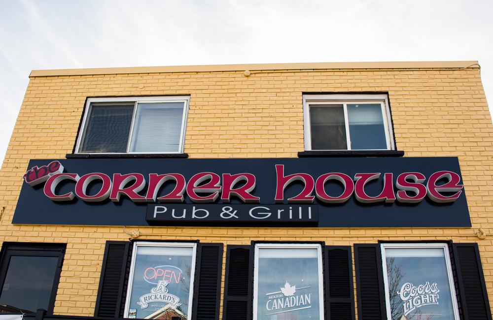 Corner House Pub & Grill exterior